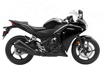 CBR250R Genuine Black Plastic Parts