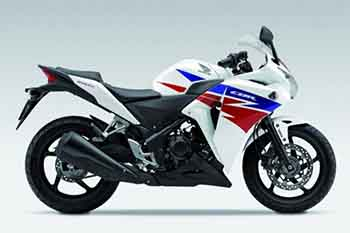 CBR250R Genuine White Plastic Parts