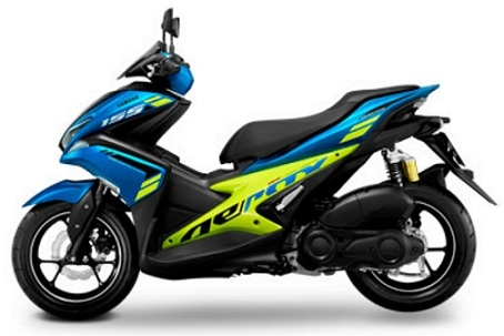 Aerox Blue/Lime Plastic Parts