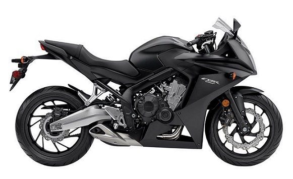 CBR650F Black Plastic Parts (NH436)