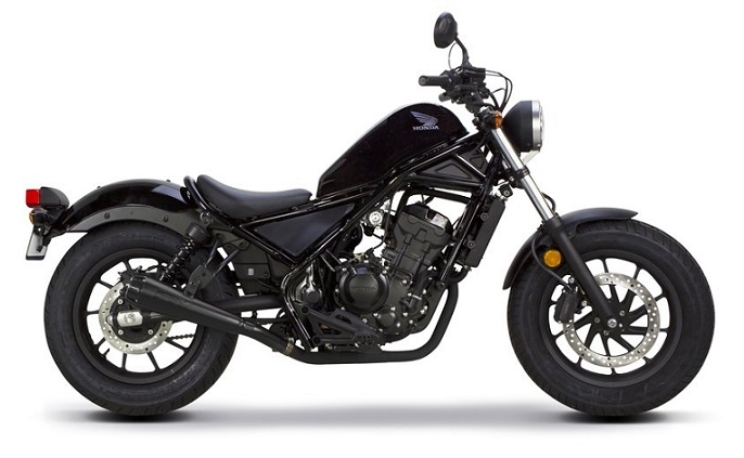 Honda CMX/Rebel 500 Black Plastic Parts (NHB01)