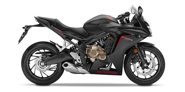 CBR650F Black Metalic Plastic Parts (NH436M)