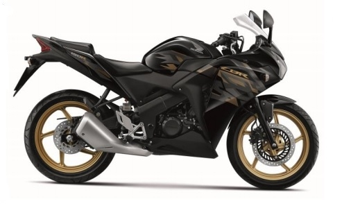 CBR150R ('16) Black Plastic Parts (NHA35M)