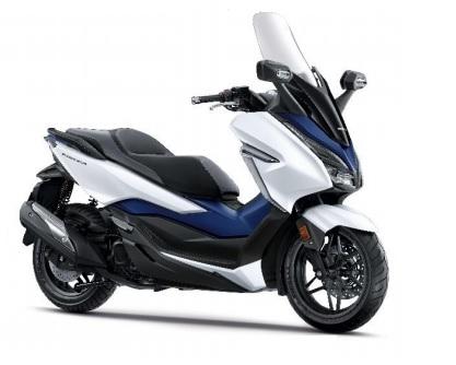 Forza 300 2018 White/Blue Plastic