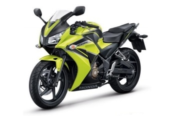 Honda CBR300R Lime/Black Plastic Parts (Y169)