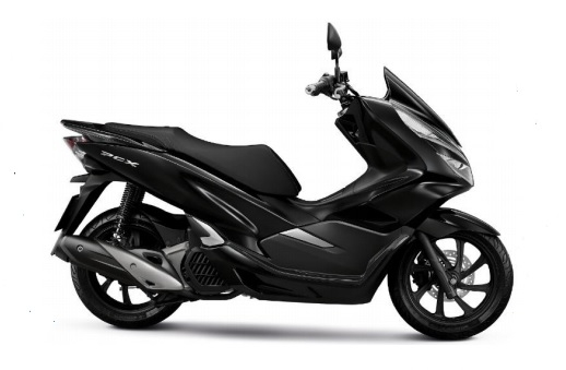 PCX Black Plastic Parts (NHA35M)