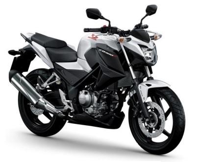 Honda CB300F White Plastic Parts (NHA96P)