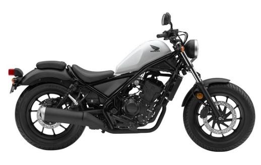 Honda CMX/Rebel 300 White/Black Plastics