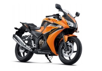 CBR300R Orange/Black Plastic Parts (YR249C)