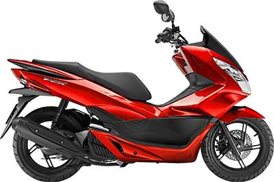 PCX Candy Rose Red Parts (340C)