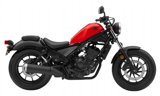 Honda CMX/Rebel 300 Red/Black Plastics