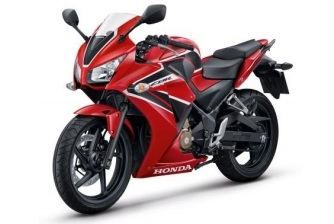 Honda CBR300R Red/Black Plastics Parts (R263)