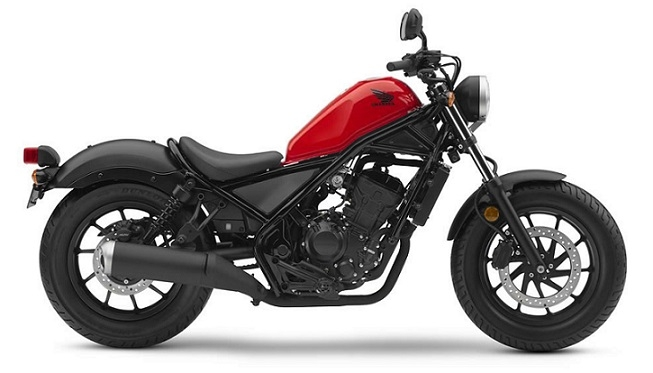 Honda CMX/Rebel 500 Red/Black Plastics