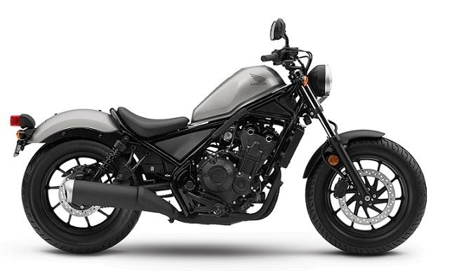 Honda CMX/Rebel 500 Gray/Black Plastics