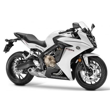 CBR650F White/Black Plastic Parts (NHA96P)