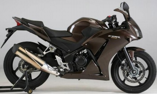 CBR300R Brown Plastic Parts (YR304M)