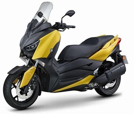 XMAX 300 Yellow Plastic Parts