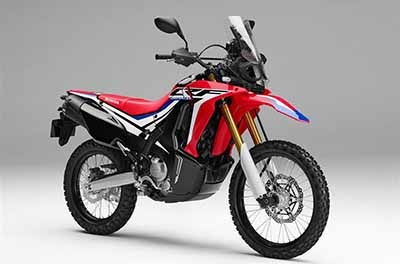 CRF250RL Rally Genuine Parts.