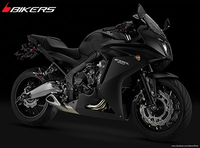 CBR650F ( 2013-2016) BIKERS Premium Black