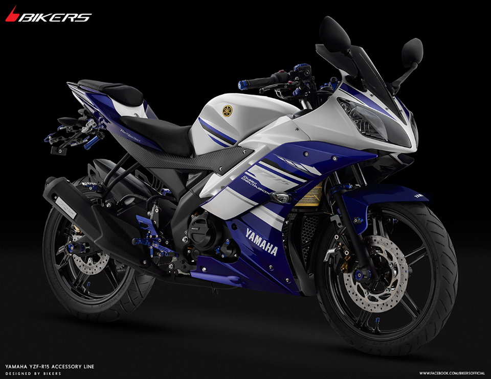 YZF-R15 ('14-'16) Bikers Acc