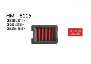 CB300/(R)250/300 Hurricane Air Filter (Cotton Gauze)