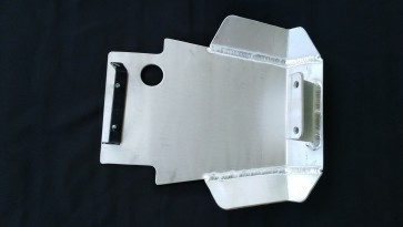 CRF250 Rally skid plate