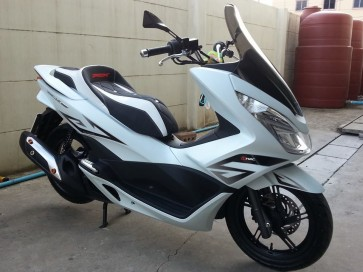 Honda PCX 2014 Smoke Tint Windshield