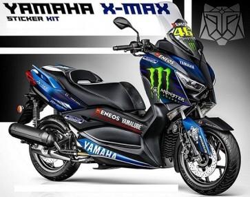 Yamaha XMAX Decal Sticker Kit-Monster 2019