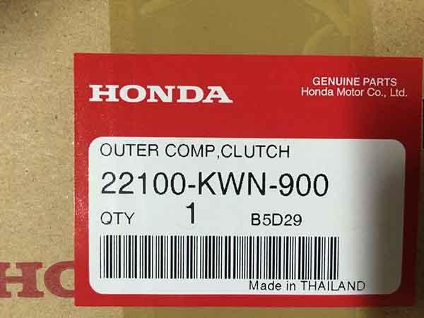 Honda OEM Part 22100-KWN-900