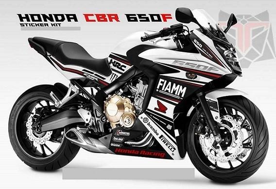 Decals & Stickers 2 x Honda CBR250 CBR250R Fairing Decal Decals ...