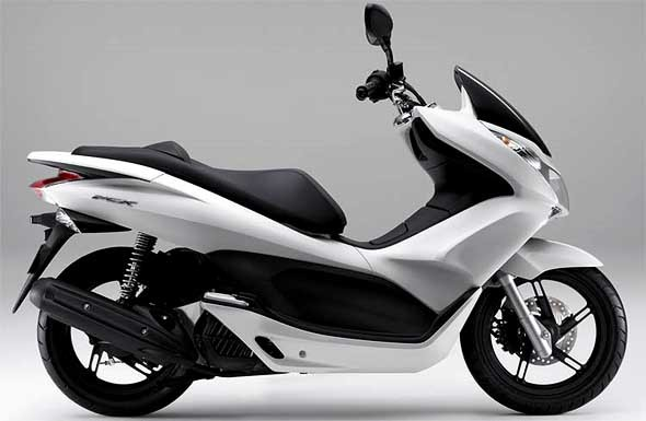 Honda Pcx Full Set Pearl White Plastic Fairing Parts