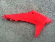 CRF250L Right Rear Radiator Shroud - Red