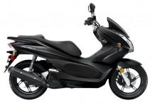 Honda PCX Black Plastic Set