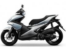 Yamaha Aerox Silver Decal & Emblem Set