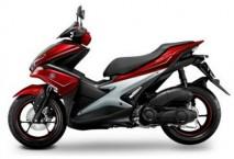 Yamaha Aerox Red/Silver Plastic Set