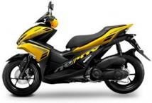 Yamaha Aerox Yellow Plastic Set