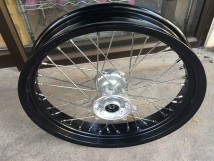 CRF250M Front Wheel-Black