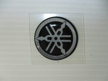 Yamaha Emblem 25mm.