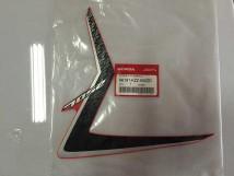 Honda CRF250L Aufkleber Linke Seitenverkleidung Vorne Schwarz/Rot