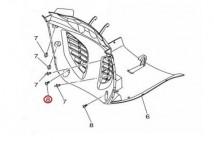 Yamaha Truss Head Tapping Screw