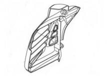 Yamaha Aerox 155 Radiator Cover