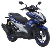 Yamaha Aerox Blue Plastic Set