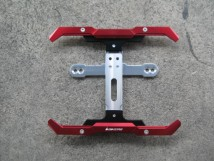 Bikers standard Rear License Support-red