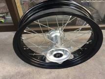 CRF250M Rear Wheel Black