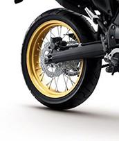 Rear Wheel Gold