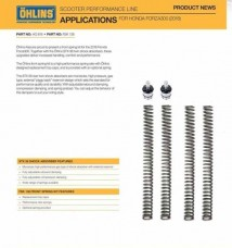 OHLINS Forza 300 Top Cap & Spring Kit