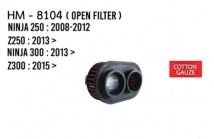 Z250/Z300/Ninja 250/300 Hurricane Open Air Filter (Cotton Gauze)