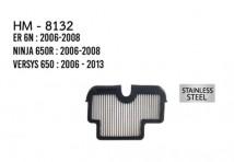 ER 6N/Ninja 650R/ Versys 650 Hurricane Air Filter (Stainless Steel)