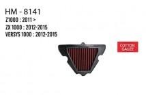Z1000/ZX1000/Versys 1000 Hurricane Air Filter (Cotton Gauze)