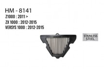 Z1000/ZX1000/Versys 1000 Hurricane Air Filter (Stainless Steel)